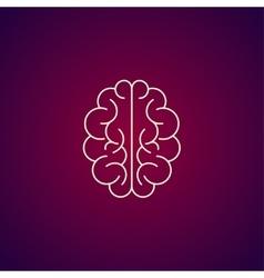 Brain icon Flat style vector image