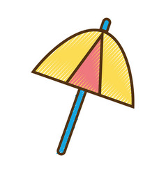 Umbrella protection of the change weather vector