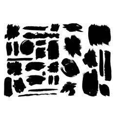 Set of grunge elements vector image