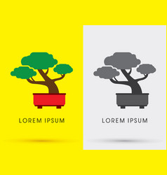 Bonsai Tree Logo Vector Images Over 480