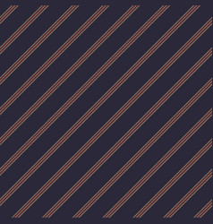 dark blue striped seamless pattern vector image
