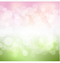 green and pink background vector image