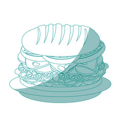 Hamburger icon image vector