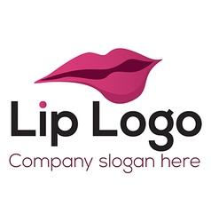 Lip logo vector image