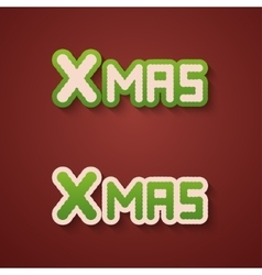 Modern christmas background invitation of vector