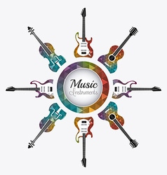 Music digital design vector image