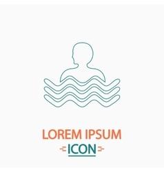 Pool computer symbol vector
