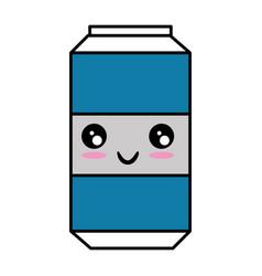 soda drink can icon vector image