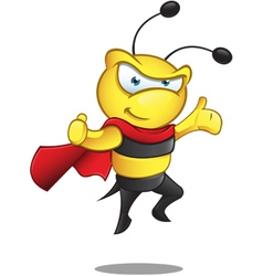 Super Bee Presenting vector image