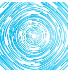 modern circled spiral abstract background vector image vector image