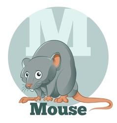 ABC Cartoon Mouse vector image
