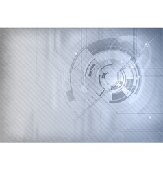 tech background grey blue vector image