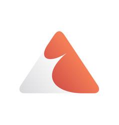 a letter symbol design template vector image