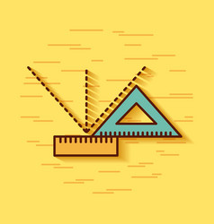 Geometric instruments school vector