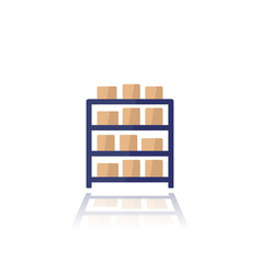 Inventory icon on white flat art vector