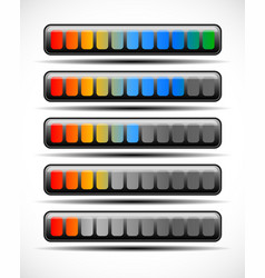 Loading bar vector
