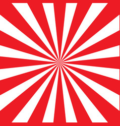 red and white sunburst pattern vector image