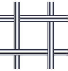 Seamless pattern with crossing lines vector