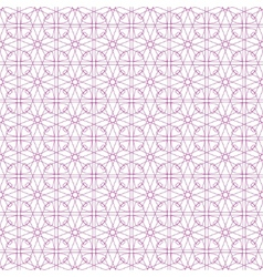 seamless pink guilloche background vector image
