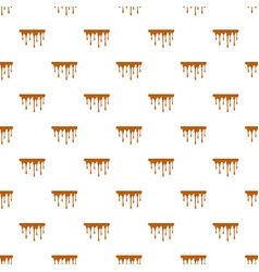 Flowing caramel pattern vector