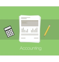 Accounting document vector