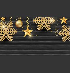 christmas holiday design vector image