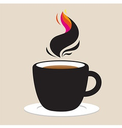 Coffee IDea Abstract vector image