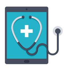 Ehealth health care vector