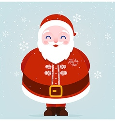 Father Christmas Icon vector image