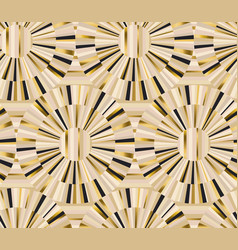 geometric retro style luxury seamless pattern vector image