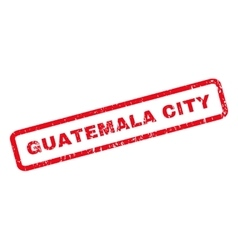 Guatemala City Rubber Stamp vector image