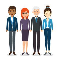 International business team vector
