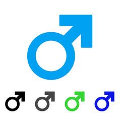 Male symbol flat icon vector