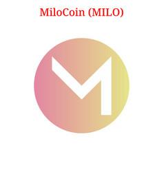 Milocoin milo logo vector