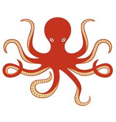 octopus ocean vector image
