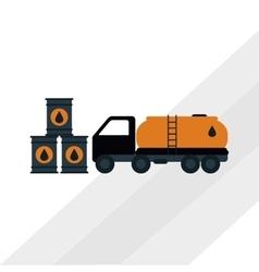 Oil Industry design vector image