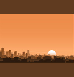 Urban background banner vector