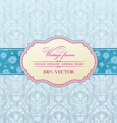 Background invitation vector image vector image