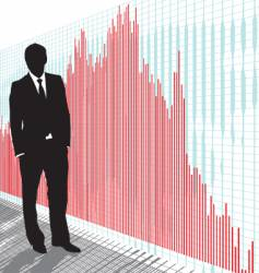 stock trader vector image