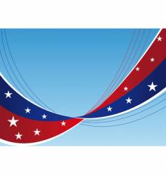 patriotic background stars and stripes vector image vector image