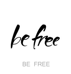 be free template vector image vector image