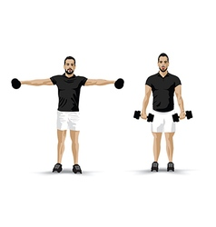 Training fly weights vector