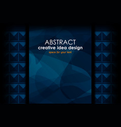 abstract template backgrounds design vector image