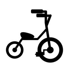 Batricycles simple icon vector