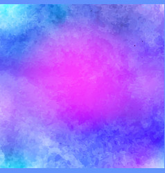 blue pink white watercolor bright paper texture vector image