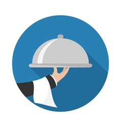 Food Service Icon vector image