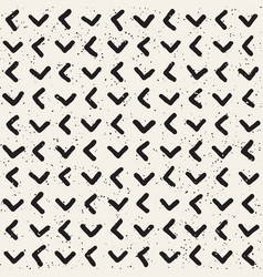 Hand drawn lines seamless grungy pattern abstract vector