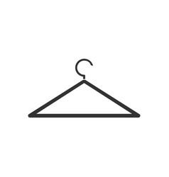 hanger icon flat vector image