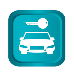 keys car vehicle icon vector image