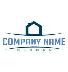 Logo real estate vector